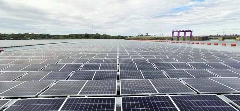 โครงการโรงไฟฟ้าพลังงานแสงอาทิตย์ทุ่นลอยน้ำร่วมกับโรงไฟฟ้าพลังน้ำเขื่อนสิรินธร