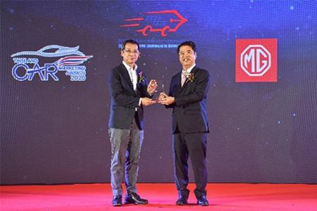 """รางวัล Thailand Car Marketing Awards 2020 ประเภทรางวัล """"Top EV Sales Award 2019"""