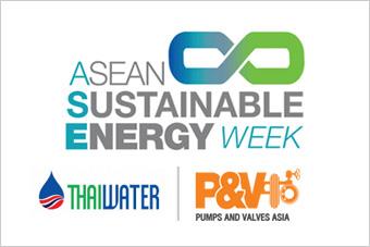 SEAN Sustainable Energy Week , Thai Water, Pumps Valves