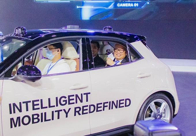 ยานยนต์ไฟฟ้า EV ในงานบางกอก อินเตอร์เนชั่นแนล มอเตอร์โชว์ ครั้งที่ 42