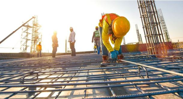 Steel is a key material for the construction industry