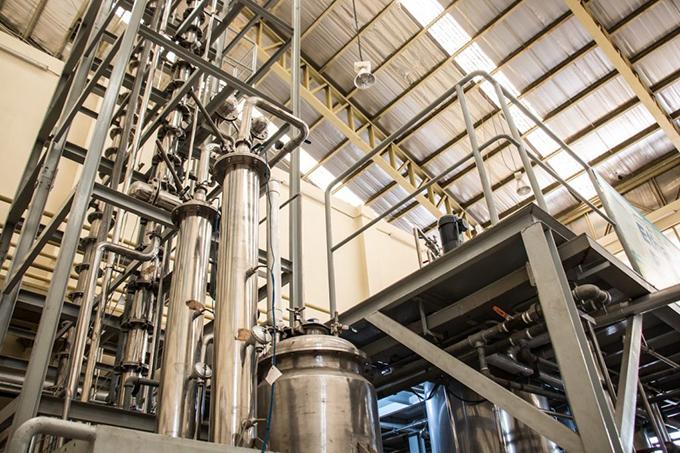 โรงงานต้นแบบผลิตเอทานอล มจธ. บางขุนเทียน