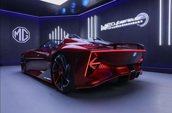 รถยนต์ไฟฟ้า MG Cyberster