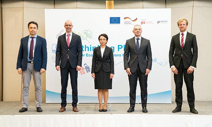 เปิดตัวโครงการส่งเสริมการใช้เศรษฐกิจหมุนเวียนเพื่อจัดการปัญหาขยะทะเล นำร่อง 3 โครงการ ในภูเก็ต ระยอง และตรัง