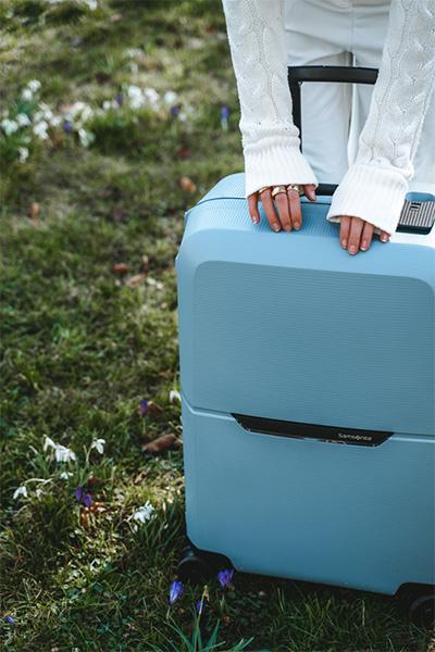 Magnum Eco กระเป๋าเดินทาง นวัตกรรมวัสดุพลาสติกรีไซเคิล