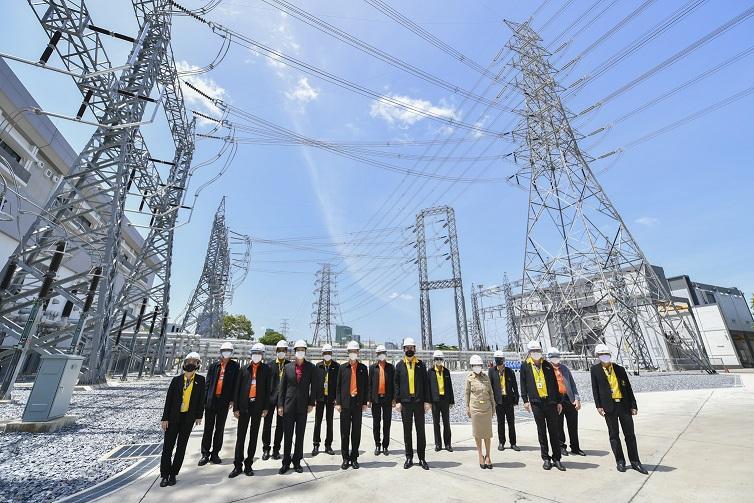 กฟผ.-MEA-รฟท. ร่วมเปิดสถานีไฟฟ้าแรงสูงจตุจักร กฟผ. และสถานีต้นทางบางซื่อ MEA