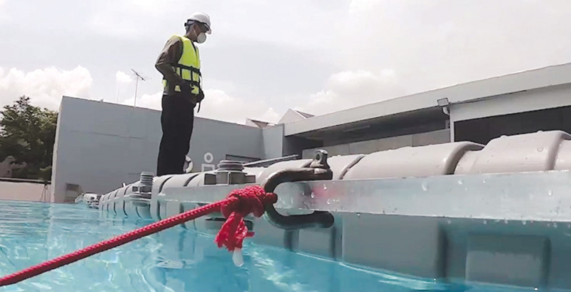 ทุ่นโซลาร์ลอยน้ำ G Float