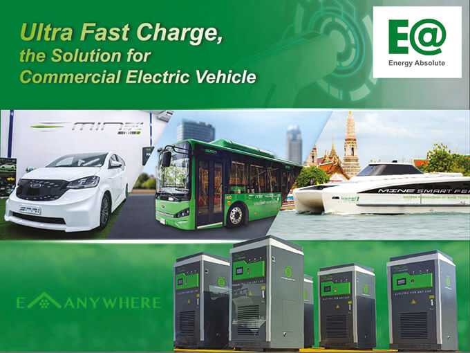 ยานยนต์ไฟฟ้า บริษัท EA