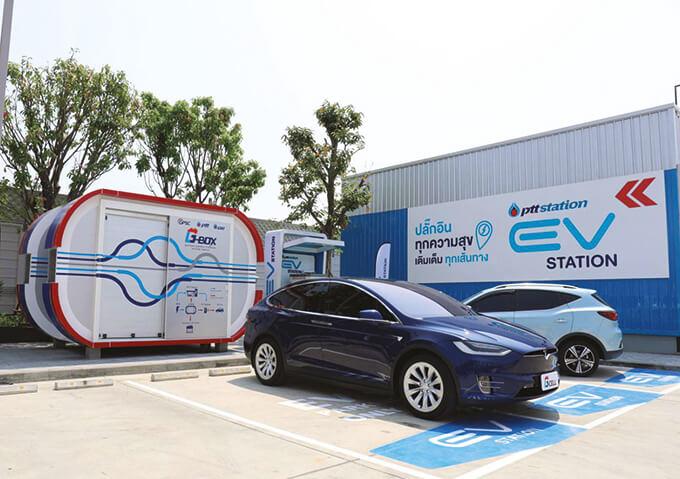ยานยนต์ไฟฟ้า EV บริษัท GPSC